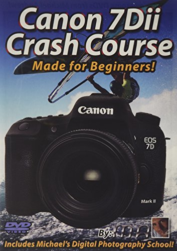Preisvergleich Produktbild Canon 7dii mark 2 Crash Course Training Tutorial DVD / Made for Beginners!