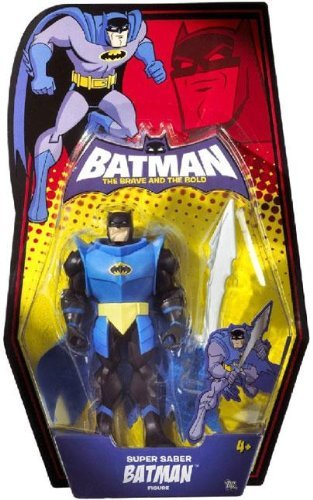 Batman: Brave And The Bold Super Saber Batman Action Figure by Batman: Brave & The Bold