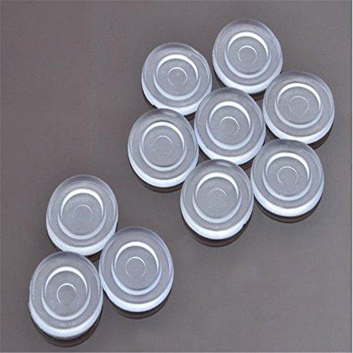 Preisvergleich Produktbild Klarglas Tischplatte Stoßfänger,  Glas Tischplatte anti-Rutsch-Pad,  Weich-PVC-Material,  um die Glasplatte der Tabelle von Sliding.Glass Tischplatte Saugunterlage,  Glas Tischplatte Spacer zu verhindern.