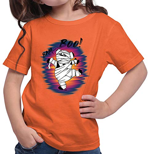 irt Bam Boo Pandabär Mumie Halloween Kostüm Verkleidung Umhang Plus Geschenkkarte Orange 164/14-15 Jahre ()
