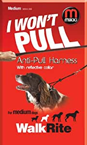 Mikki Training Anti-pull Harness with Reflective Collar