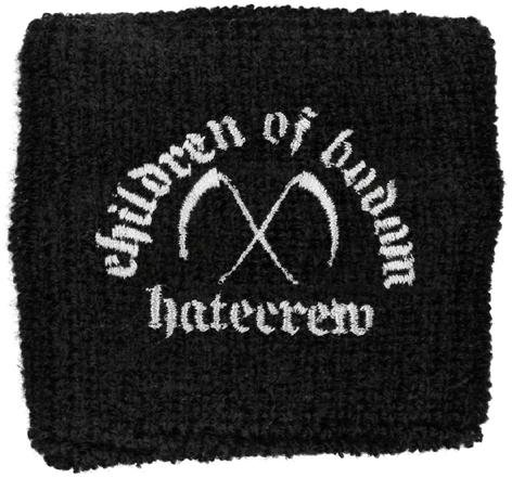 Children Of Bodom - Hate Crew (sudore Band, nero) Children Of Bodom Bracciale