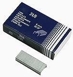 Heftklammern verzinkt 24/6 Standardgröße- 10.000 Stück (10x1000 Stk) Häftklammern Tackerklammern