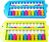 Lucky Will Portable Colorful Beads Plastic Abacus Arithmetic Soroban Calculating Tool Educational Tool for Kids