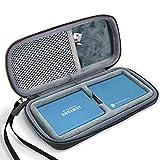 ProCase Custodia Rigida da Viaggio per Samsung T5 / T3 Portatile 250GB 500GB 1TB 2TB SSD USB 3.1 External Solid State Drive, Montare 2 SSD All'interno -Nero