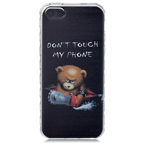 iPhone 6S Plus Hülle Silicone,iPhone 6S Plus Hülle Glitzer,iPhone 6S Plus / 6 Plus Hülle TPU Case Schutzhülle Silikon Crystal Clear Case,EMAXELERS iPhone 6S Plus Hülle Bunte Blumen Schmetterling Muste Animal TPU 3