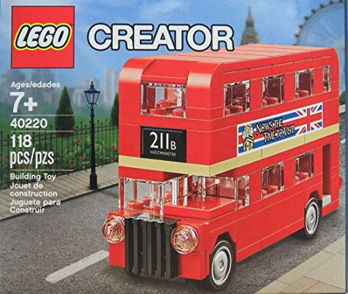 Genuine Lego Creator LONDON BUS Promo Set – 40220 Rare Collectors Item