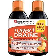 Forte Pharma Turbodraine thé pêche 2 ...