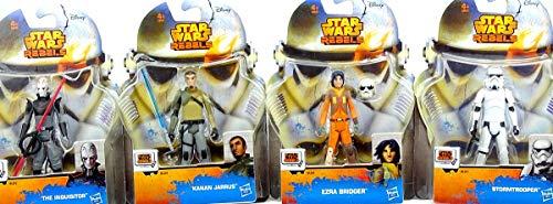 Hasbro Star Wars Rebels Bundle mit Ezra Bridger, Stormtrooper, Kanan Jarrus und ()