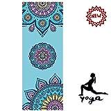 JZAMY Tapis De Yoga - 2019 Nouvelle Couleur, Antidérapante, Absorbant La Sueur, Convient Aux Débutants Et Aux Avancés - Yoga Professionnel, Pilates,6