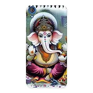 Enticing Ganesha Blessings Back Case Cover for HTC Desire 820