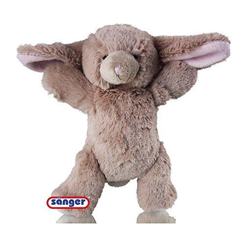 Zoo-Baby Hase Toby mit Kirschkernkissen, Wärmekissen, Kältekissen, Wärmetier
