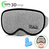 Upgraded sleep mask eye mask,VOLUEX 3D Eye Mask Soft Breathable Sleeping Mask