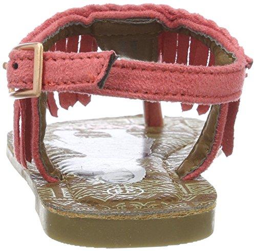Vaiana Va000102, Sandales Compensées fille Pink (CORAL COR)