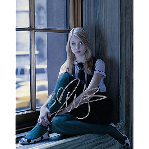 p74tm Taylor Momsen firmato 10x 8Foto, Musica garantito Autentico
