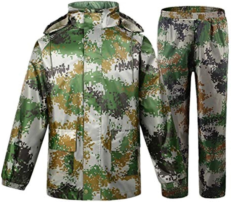 Ice grigio Impermeabile Abbigliamento Uomo con Traspirante Lunga Pioggia  Cappotto con Uomo Cappuccio 02544af714f