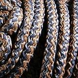 PFIFF Rete per Fieno, Bicolore, Blu Marrone