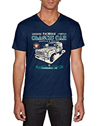 Touchlines Herren T-Shirt Classic Car Landi Defender Youngtimer