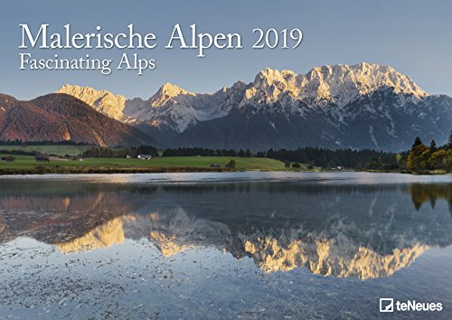 Malerische Alpen 2019 - Wandkalender, Fotokalender Alpen, Landschaftskalender 2019 - 42 x 29,7 cm