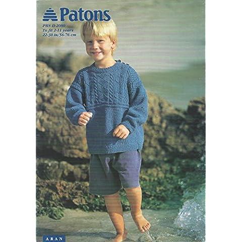 Patons-Fascicolo per lavoro a maglia, 2080-Felpa Aran