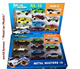 Galaxy Hi-Tech® Hot Metal Die-cast Car Models Collection of Toy Cars for Children