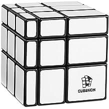 Mirror Cube Ultimate - Mirror Blocks negro & blanco - variación 3x3 speed-cube (shape-shift) - twisty puzzle - rompecabezas - juego de pensamiento y de lógica