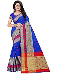 Roadstar India Women's Art Silk Saree Kanchipuram Style (Latest Designer Sarees /Party Wear Sarees /New Collection...