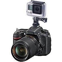 Smatree completa trípode de aluminio Tornillo de SLR Flash de la cámara Adaptador de montaje de zapata para GoPro Session, Hero 5/4/3+/3/2/3, 2, 1