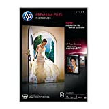 HP CR672A Premium Plus Glossy Photo Paper 300g/m2 A4 20 Blatt, weiss
