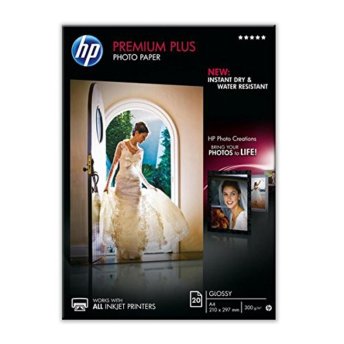 HP Premium Plus CR672A- Papel fotográfico satinado