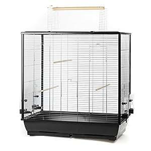 Grande gabbia per uccelli, per pappagallini e canarini, con seduta libera