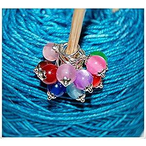 Maschenmarkierer Stricken Jelly Pearls
