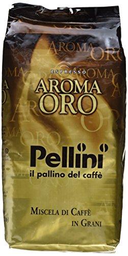 Pellini Caffè Aroma Oro, Bohne, 1er Pack (1 x 1 kg)