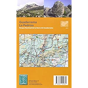 Guadarrama-La Pedriza. 2 mapas excursionistas. Escala 1:25.000. Editorial Alpina. Español, Française, English.