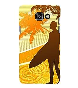 99Sublimation Boy at the beach 3D Hard Polycarbonate Designer Back Case Cover for Samsung Phones