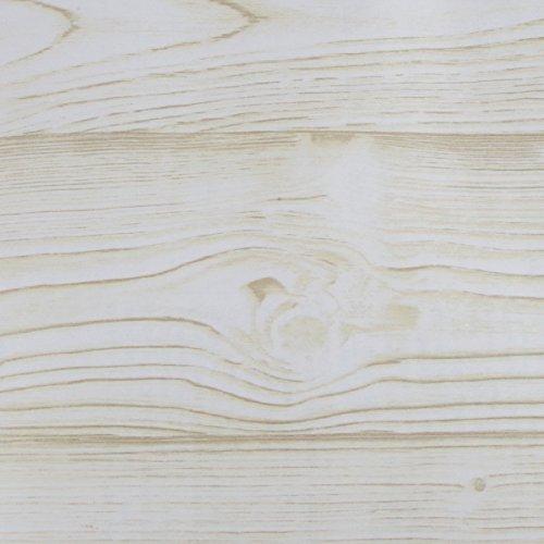 Klebefolie 200x45cm Eiche weiß Holzoptik Dekofolie Selbstklebefolie Möbelfolie