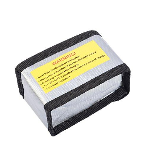 Lommer 5pcs 1000mah Lipo Batterie mit 5 in 1 Ladegerät und Sicherheit Explosionsgeschützte Tasche für MJX Hubschrauber T04 / T05 / T25 / M03 / F28 / F29 - 8