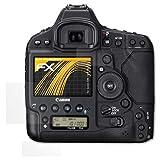 atFoliX Schutzfolie für Canon EOS 1D X Mark II Displayschutzfolie - 3er Set FX-Antireflex blendfreie Folie