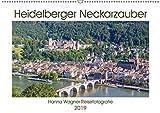 Heidelberger Neckarzauber (Wandkalender 2019 DIN A2 quer): Hanna Wagner zeigt Monat für Monat die schönsten Stadtansichten Heidelbergs. (Monatskalender, 14 Seiten ) (CALVENDO Orte) - Hanna Wagner