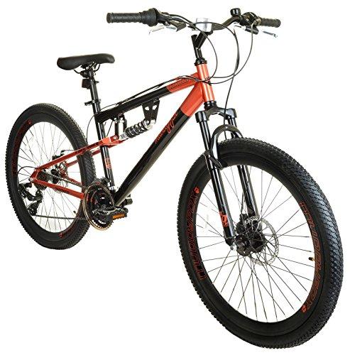 New Ladies/Womens Black Muddyfox Dakota 26 Inch Dual Suspension Bikes - Black - Best Price and Cheapest