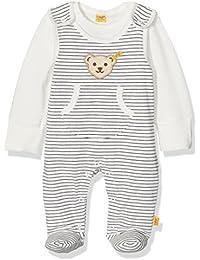 Steiff Baby-Jungen 2tlg. Strampler O. Arm + T-Shirt 1/