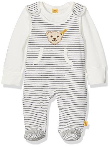 Steiff Baby-Jungen 2tlg. Strampler o. Arm + T-Shirt 1/, Mehrfarbig (y/d Stripe 0001), 62