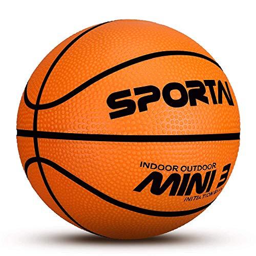 BABYGO Mini Basketball - Schwimmbecken Basketball - Kinder Indoor Basketball - 12,7 cm Durchmesser - weich und federnd, Basketball, Orange