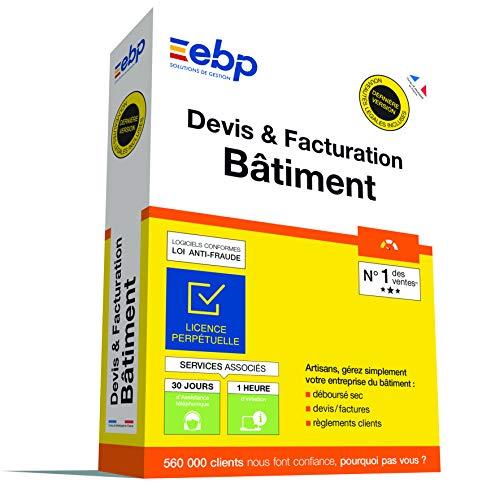 EBP Devis et facturation Batiment OL - Derniere version - Ntes Legales incluses - Licence perpetuelle - Monoposte