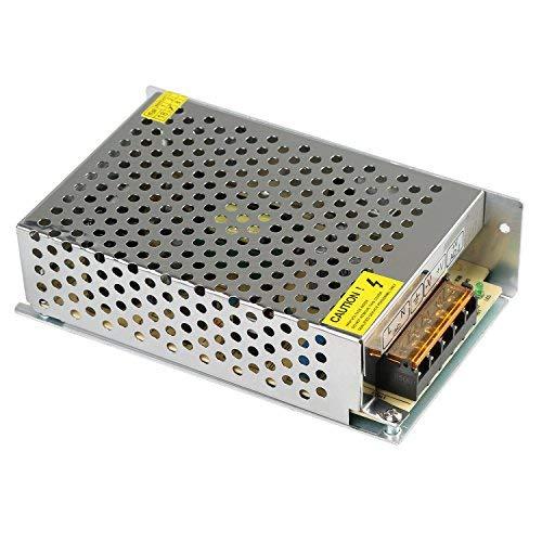 XKTTSUEERCRR 5V 10A 50W Trafo Transformator Adapter Netzteil Schaltnetzteil Stromversorgung für LED Streifen Strip und weitere Geräte mit DC 5V