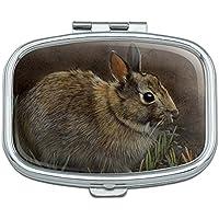 Backyard Bunny Kaninchen Hase Rechteck Pille Fall Schmuckkästchen Geschenk-Box preisvergleich bei billige-tabletten.eu