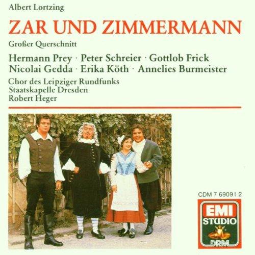 Zar Und Zimmermann/Excerpts/Lortzing
