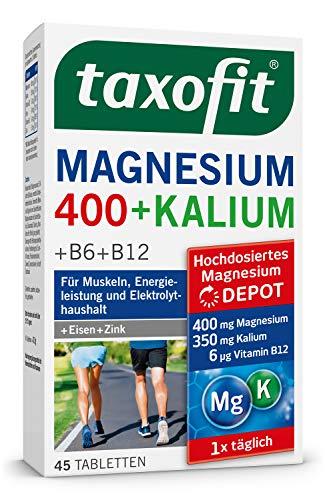 taxofit Magnesium 400 + Kalium, 45 Stück