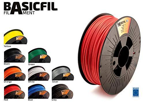 BASICFIL PLA 2.85mm 1 kg, ROT (red), 3D Drucker Filament