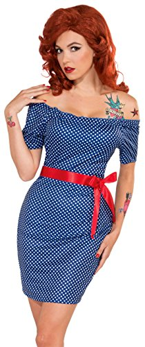 Bristol Novelty Forum Novelties ac536 Betty Retro Kleid (UK ()
